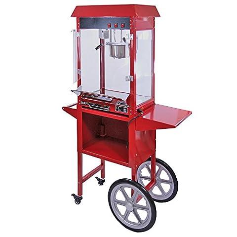 Popcorn Maker Machine / 8 Ounce Large Kukoo Pop Corn