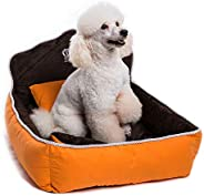 Mumoo Bear Set of 3 Pet Bed, Quilt and Pillow, Comfortable Soft Full Washable Pet Beds Dog Kennel Cotton Nest