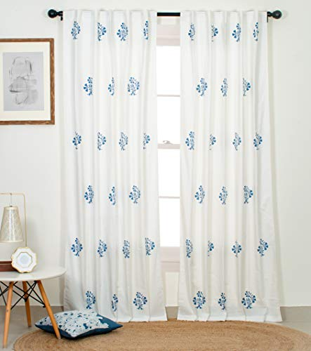 check MRP of cotton curtains fabric Portobello Curtain Co.