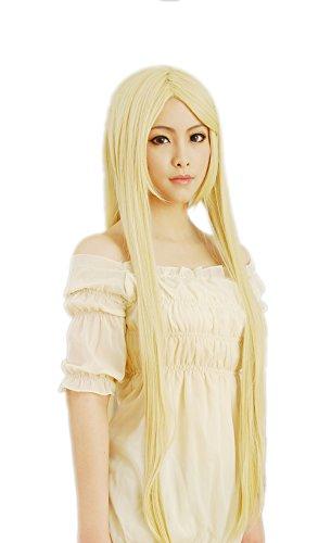 (Perücke Naruto Inuyasha Superbia · Squalo Senju Tsunade Pale Gold Lange glatte Haare Cosplay)