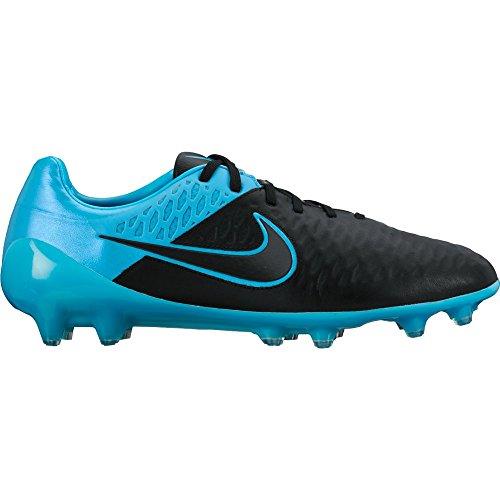 Nike Magista Opus Leather Black 768890 004 black/black-turquoise blue-turquoise blue