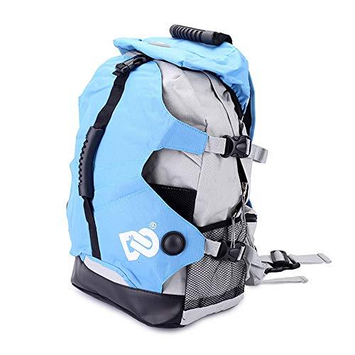 Hethrone Roller Skates Shoes Mochila Bolsa de Almacenamiento Profesional Bolsa de Patinaje sobre Hielo para niños y Adultos (Blue)