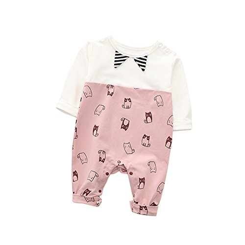 fairy baby Boy Weste Adrette Weste Sleeveless Pullover V-Ausschnitt Size 90 (Red)