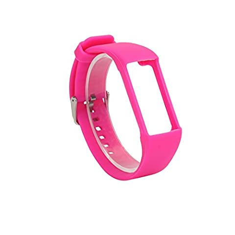 feiliandajj Armbanduhr Band, Fashion Slim Design Sleeve Fall Strap für POLAR A360Smart Watch, Herren Kinder damen, hot pink