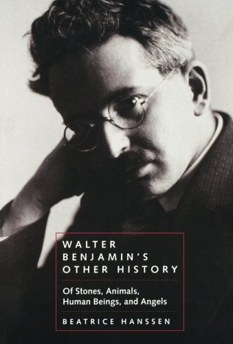 Walter Benjamin's Other History: Of Stones, Animals, Human Beings and Angels (Weimar & Now: German Cultural Criticism)
