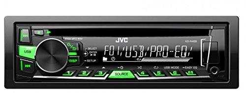 JVC KD-R469E  - Radio para coche (4.0 canales, FM,LW,MW, 87,5 - 108 MHz, 153 - 279 kHz, LCD, Negro)