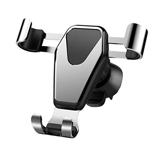 AidShunN Autotelefonhalter Schwerkraftmontage Stabile Wiegenhalterung 360 ° einstellbar Kompatibel iPhone XS Max XR X 8 7 6S, Samsung HTC S9 S8 S6 usw.