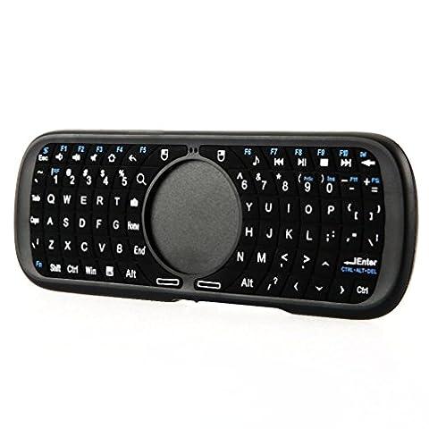 Tastatur, IMJONO iPazzPort 09S 2,4 GHz Portable QWERTY Multifunktion Mini Wireless
