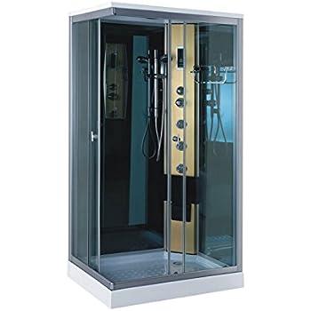 douche rectangulaire 80x120 mod le giada cristal clair cuisine maison. Black Bedroom Furniture Sets. Home Design Ideas