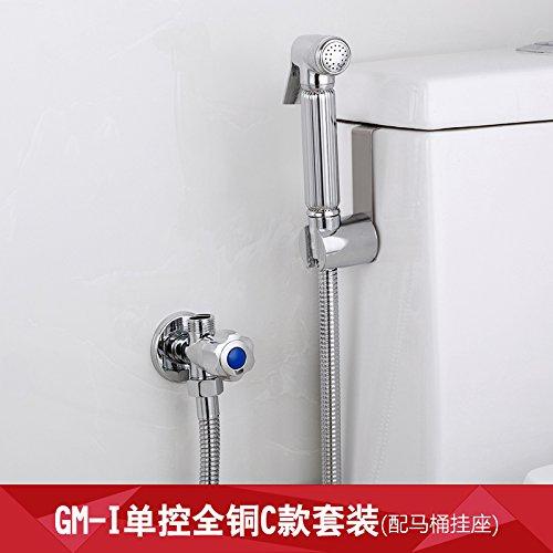GFEI trois cuivres, angle de pistolet pulvérisateur / robinet vanne, des sanitaires, toilettes laveuse / triangle partenaire, valve fixée,costumes de blocs du mur sd-ia munis de grilles