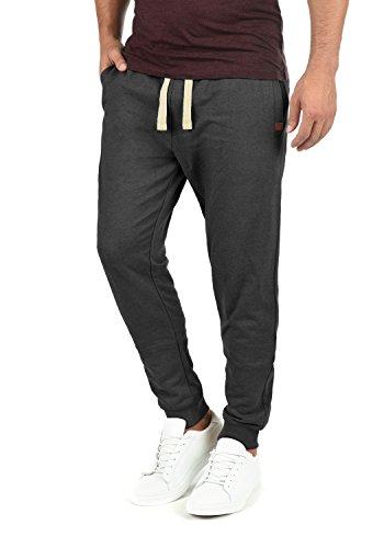 BLEND Tilo Herren Jogginghose Sweat-Pants Sporthose aus hochwertiger Baumwollmischung, Größe:M, Farbe:Charcoal (70818)