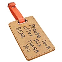 Paddington Bear Luggage Tag - Look After This Bear