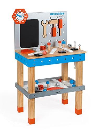 Janod-Brico Kids DIY Giant Magnetic Workbench Banco