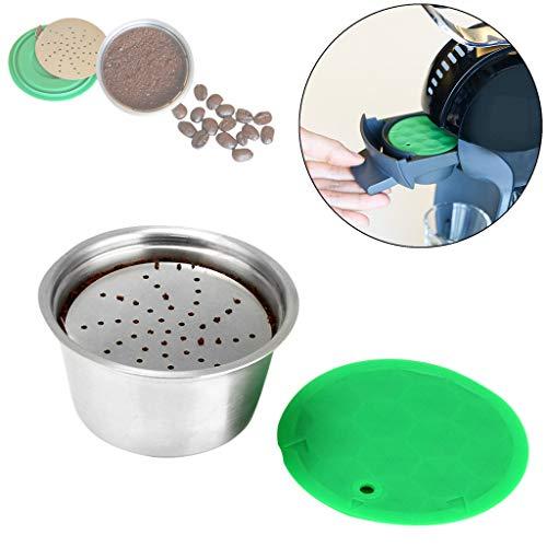 Setsail Edelstahl-Kaffeefilter Elektrische Kaffee- Kaffeefilter, 304 Edelstahl Separater Stand über...