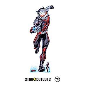 Star Cutouts SC1609 Ltd Ant-Man Pym Particles - Recorte de cartón (tamaño real, ideal para fanáticos de Marvel, coleccionistas y eventos, 179 cm de altura, 66 cm de ancho, multicolor)