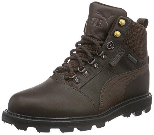 Puma Unisex-Erwachsene Tatau Fur Boot GTX Schneestiefel, Braun (Chocolate Brown-Chocolate Brown 01), 40 EU (Puma Stiefel Für Frauen)