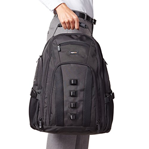 Best amazon backpacks in India 2020 AmazonBasics Adventure Laptop Backpack - Fits Up to 17-Inch Laptops Image 6