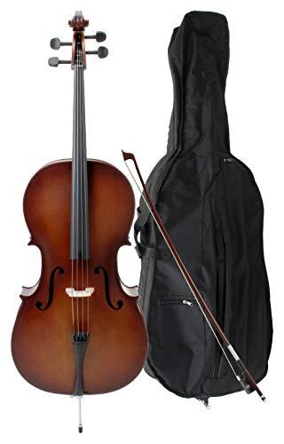 udent Cello 4/4 SET inkl. Bogen und Tasche ()