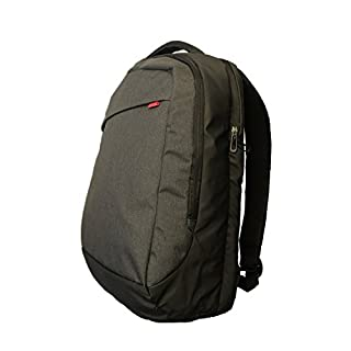 Notebook Rucksack Digital | Multifunktionsrucksack Freizeit und Business | Backpack für bis zu 15.6 Zoll Laptops z.B. Macbooks, Acer | Original Adento Marken-Design Schwarz
