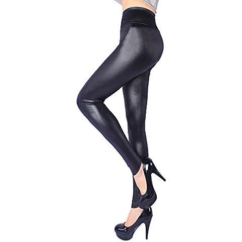 Amizi Pelle Sexy Leggings Pantaloni Della Matita