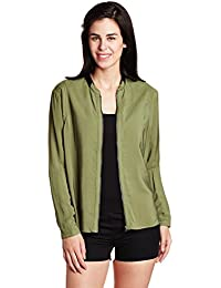 G-STAR RAW Women's Cotton Body Blouse Jacket