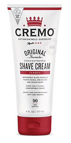 Cremo Astonishingly Superior Shave Cream, 6 Fluid Ounce by Cremo Company LLC -