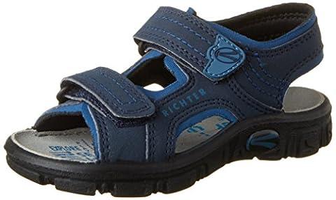 Richter Kinderschuhe Jungen Adventure Sandalen, Blau (Atlantic/Pacific), 25 EU
