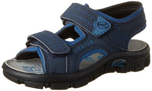 Richter Kinderschuhe Jungen Adventure Sandalen, Blau (Atlantic/Pacific), 29 EU