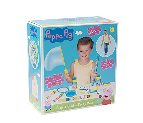 Peppa Pig Bubble Party Pack! - Kinder Party Spiele