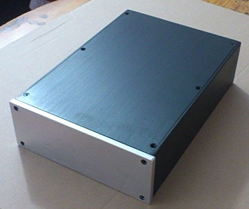 Nobsound® Aluminum Amplifier Enclosure / HiFi DAC Chassis / Preamp PSU Case / Verstärker-Bausatz Blank Gehäuse Size 215*80*308mm
