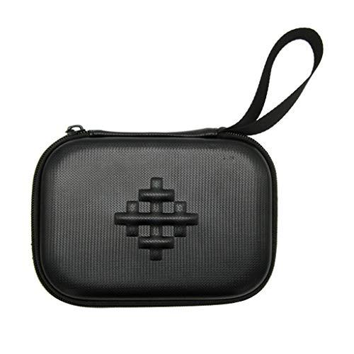Omiky Tragbare wasserdichte tragbare Hard Box Aufbewahrungstasche Tragetasche für DJI osmo Pocket Drohne Zubehör Rucksack Aufbewahrungsbox (Schwarz)