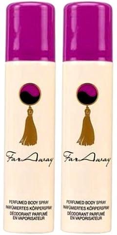 1a AVON COSMETICS 179374 FAR AWAY Deo-Set - parfümiertes Körperspray --- 2x 75ml