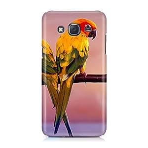 Hamee Designer Printed Hard Back Case Cover for Samsung Galaxy On8 Design 7716