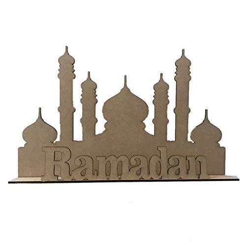 Sommer's Laden Moslems Verehren Islam Ornamente Brief Fertigt Eid Geburtstag Dekorative Vorräte