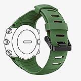 DB Watch Armband für Suunto Core, Silikon Ersatz Uhrenarmband für Suunto Core,Sportarmband für Suunto Core Samrtwatch