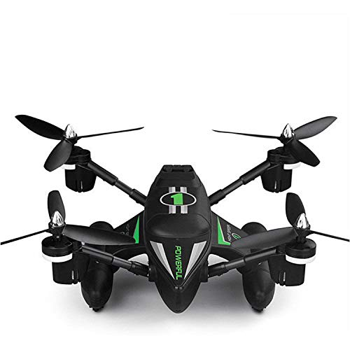 ERKEJI Drohne Drone Fernbedienung Vier-Achs Flugzeuge pneumatische Feste Höhe Spielzeug Flugzeug Allround-Fernbedienung Raumschiff Landen, Meer und Air DREI Modelle
