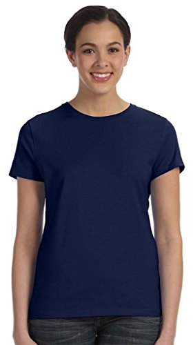 Everybody's Gay auf American Apparel Fine Jersey Shirt navy