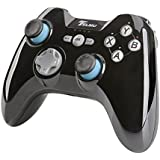 Telmu Mando para Videojuegos Gamepad Inalámbrico y Controlador Universal Bluetooth para Android o PC ( Negro )