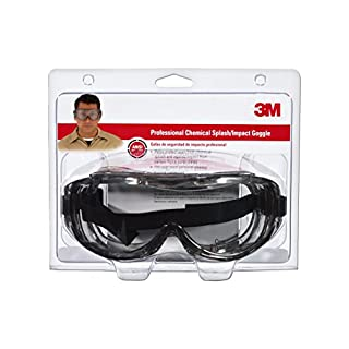 3M 91264-80025 Chemical Splash/Impact Goggle, 1-Pack