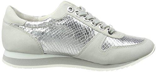 Carvela Libby, Baskets Basses femme Argent - Silver (Silver Comb)