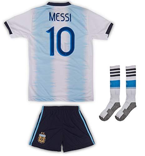 AND Argentina #10 Messi 2019/2020 - Camiseta Manga
