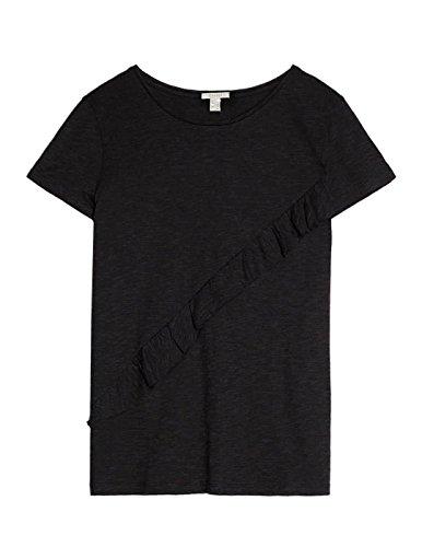 T- Shirt EDC Schwarz Volante Schwarz
