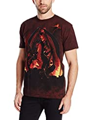 The Mountain Unisexe Adulte Boule De Feu T Shirt