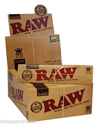 raw-classic-natural-unrefined-rolling-papers-full-box-50-booklets