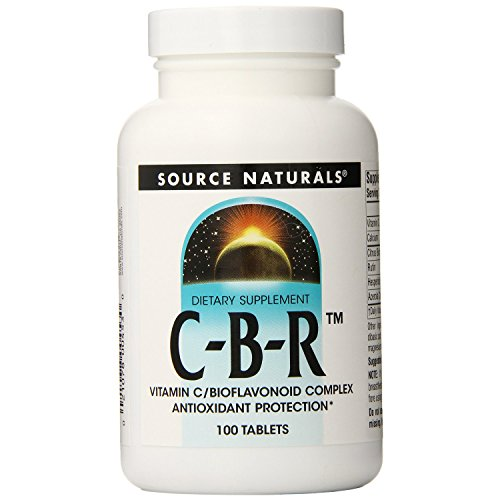 C-B-R - Vitamin C & Bioflavonoid Komplex - 500 mg - 100 Tabletten (C Naturals Vitamin Source)