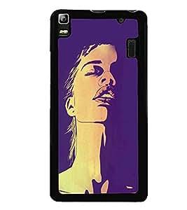 Fiobs Designer Back Case Cover for Lenovo K3 Note :: Lenovo A7000 Turbo (Awards Ar Artistic Owl Birld Dance Singer)