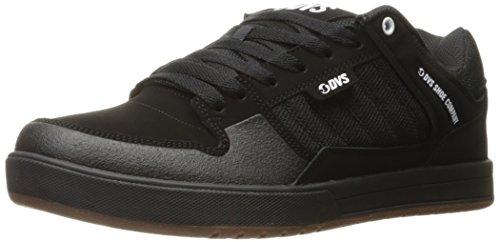 DVS Portal Soco Black Leather Nubuck Noir