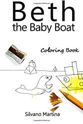Beth the Baby Boat, Coloring Book