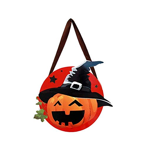 ZT TRADE Kürbis-Zauberer-Süßigkeits-Taschen-Halloween-Taschen-Süßigkeits-Geschenk-Halloween-Partei-Versorgungen -