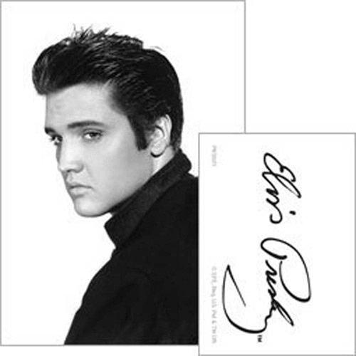 Elvis Presley - Schlüsselanhänger Portrait (in 4 cm x 9 cm)